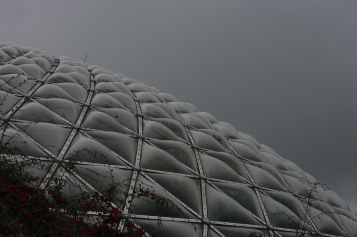 Bloedel Floral conservatory dome, exterior