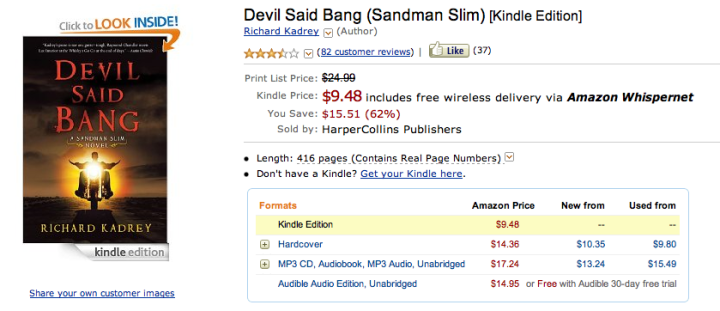 Devil Said Bang for $9.48