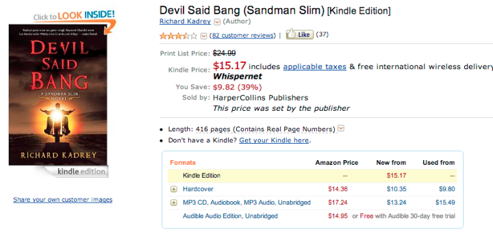 Devil Said Bang for $15.17