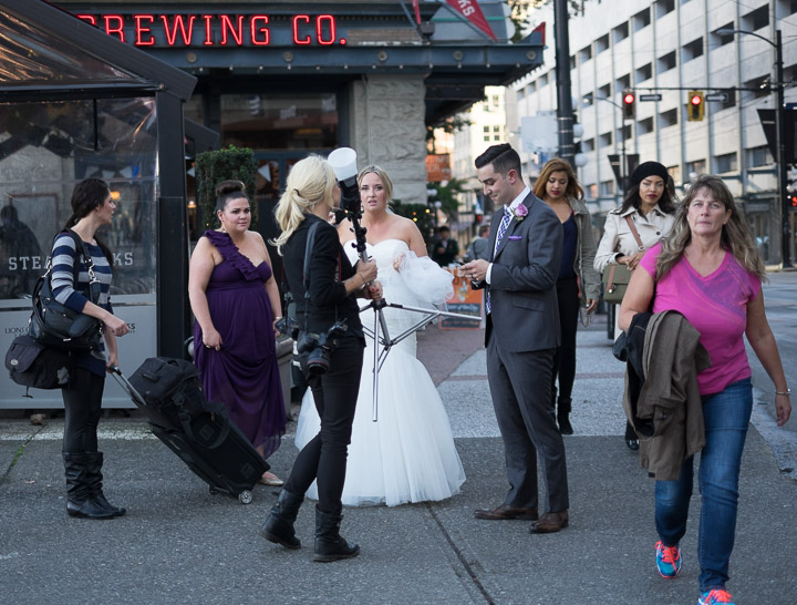 Gastown wedding