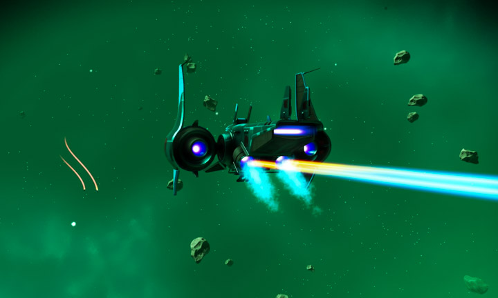No Man's Sky; space battle