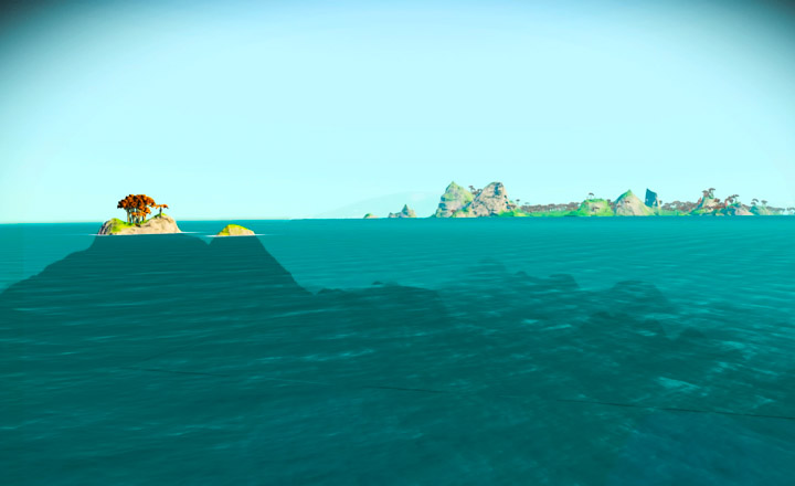 No Man's Sky, water world