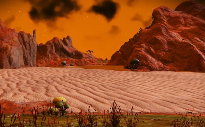 Desert-scape, No Man's Sky