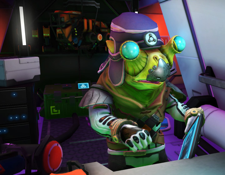 a Gek in No Man' Sky