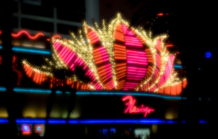Vegas, The Flamingo, sparklified