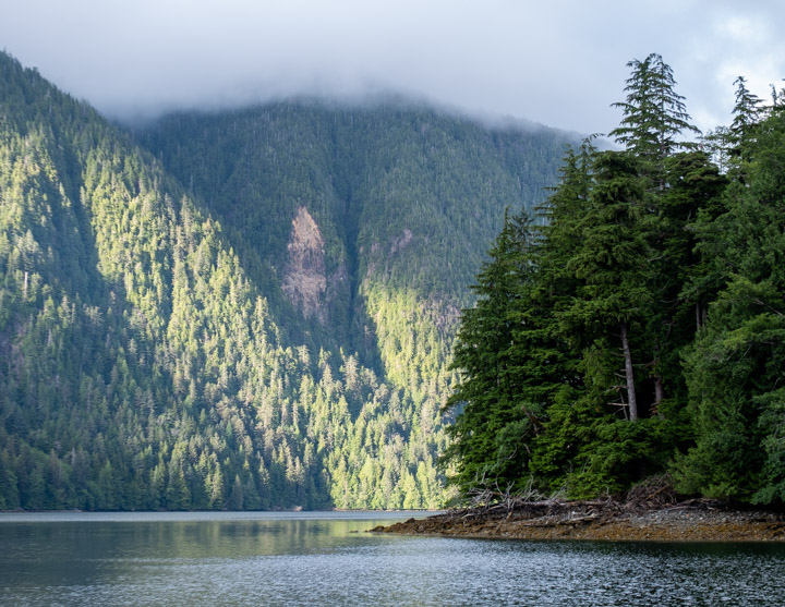 Crescent Inlet, Haida Gwaii