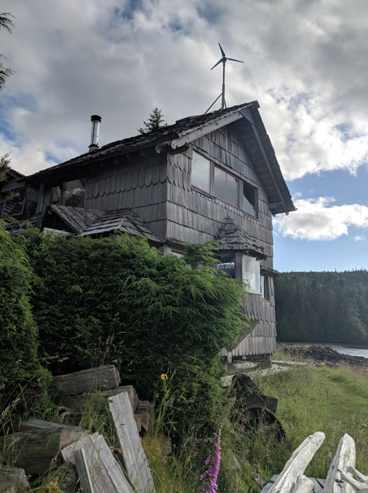 Guest-house at Rose Harbour, Haida Gwaii