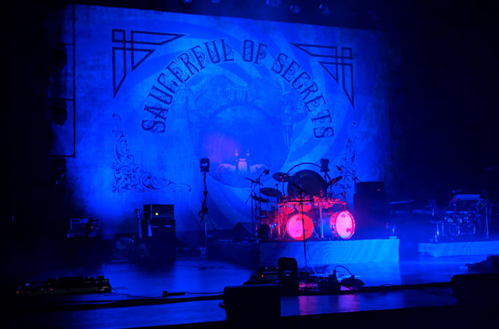Stage at Nick Mason's Saucerful of Secrets