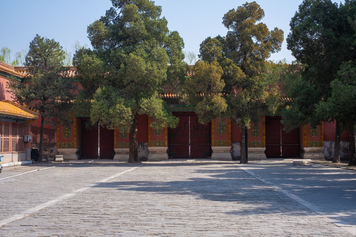 In the Forbidden City, Beijing