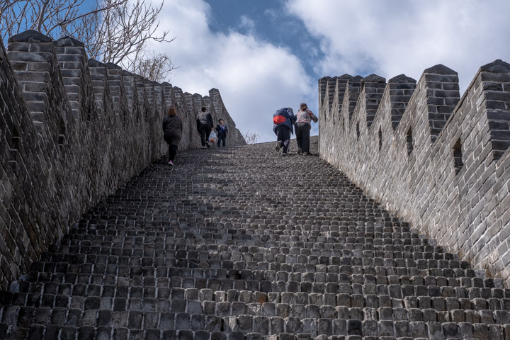 Uphill on the Great Wall
