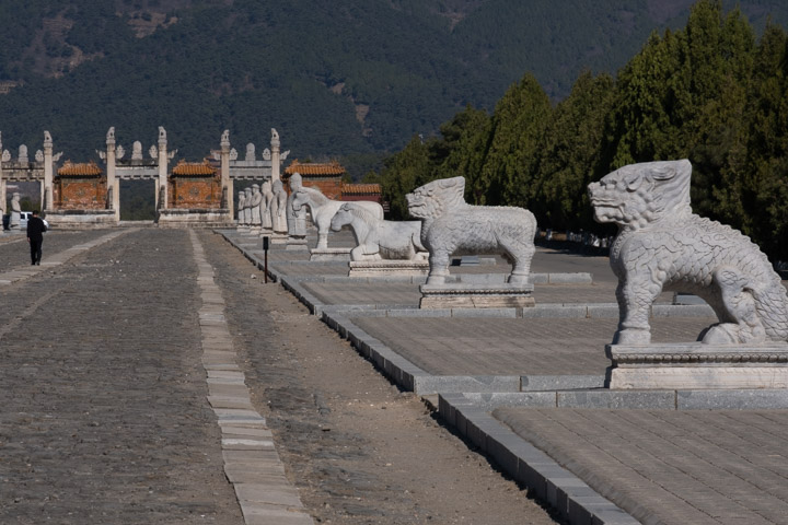Animal guard at the Eastern Qing Tombs