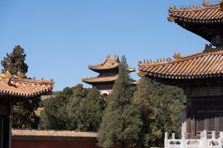 At the Eastern Qing Tombs in Huangyaguan