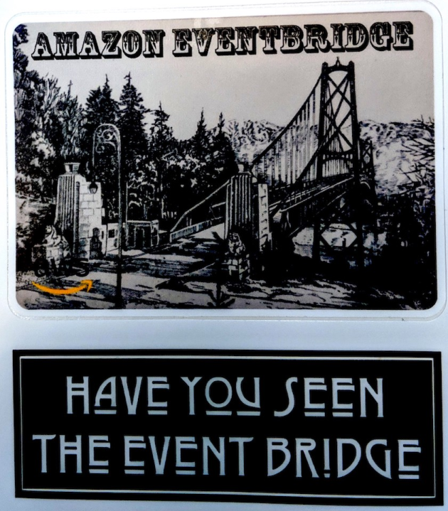 EventBridge stickers