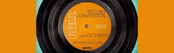 Record convention poster