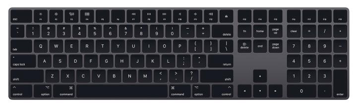 Apple black Magic Keyboard
