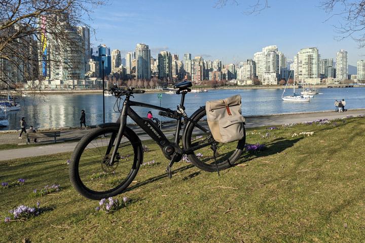 E-Bike by False Creek