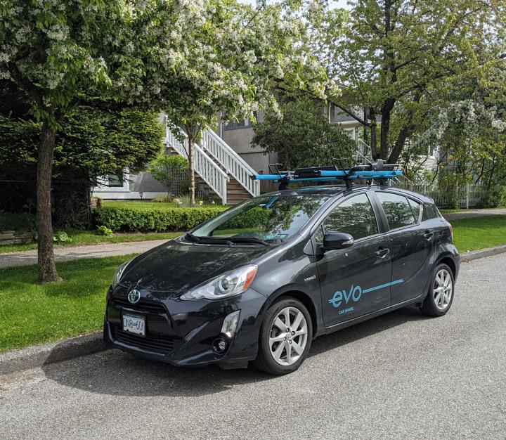 An Evo car-share