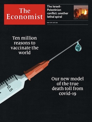 Economist May 15th 2021 issue cover