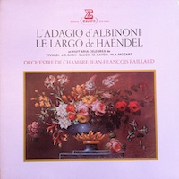 Peaceful arias by Albinoni, Handel, and others