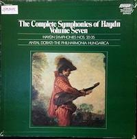 Dorati/Hungarica Haydn symphonies Volume 7