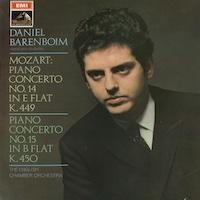 Barenboim plays Mozart concertos