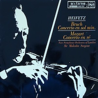 Heifetz Bruch and Mozart